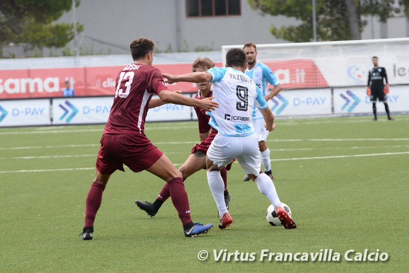 Calendario Reggina 2020.Photogallery Virtus Francavilla Calcio Reggina 1 1 Serie C